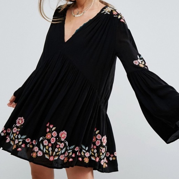 67dd839399c4 Free People Dresses   Skirts - 1DAY SALE NWOT FREE PEOPLE TE AMO MINI DRESS